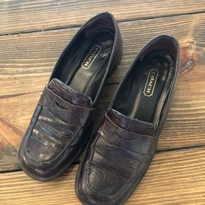 Coach Shoes - Vintage Coach Women's Penny Loafers